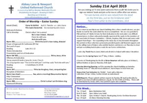 Sunday Club for Children and Young People @ Abbey Lane Church Hall | England | United Kingdom